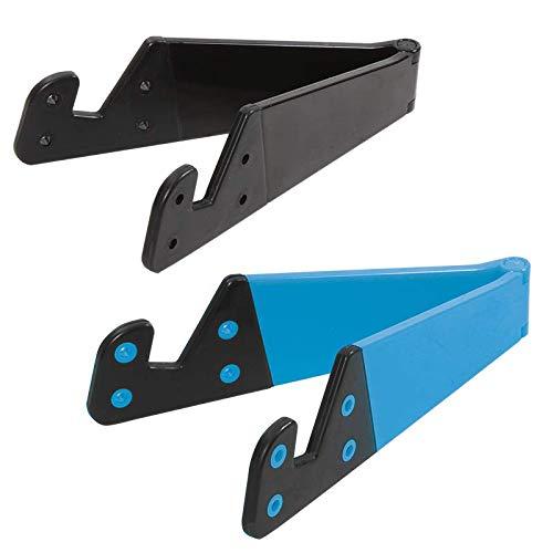 LogiLink AA0039B Smartphone-/Tablet-PC-Halterungs-Set, schwarz/blau