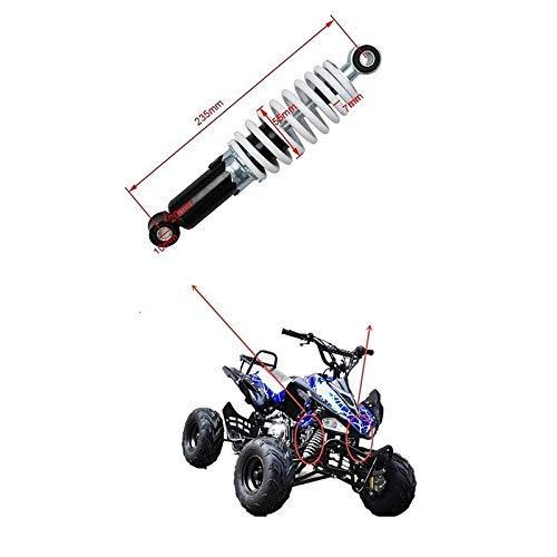 Motocicleta de Amortiguador de la Motocicleta Motocicleta 235mm 9.25'Amortiguador Trasero Suspensión de la suspensión Socker Fit Ajuste para Moto Bike Quad ATV Go-Kart Buggy 70cc 110cc Amortiguador M