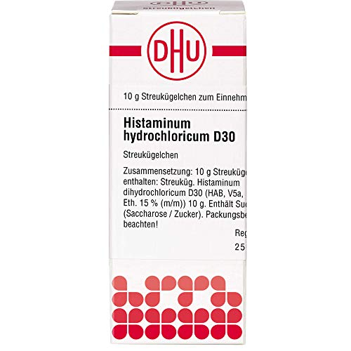 DHU Histaminum hydrochloricum D30 Streukügelchen, 10 g Globuli