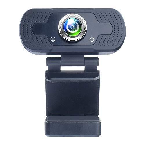 DYHG Pc Webcam Mit Integriertem MikrofonHd 1080p Webcam Weblektion Unterricht Mit Mc Webcam USB Treiberfreie Live Kamera