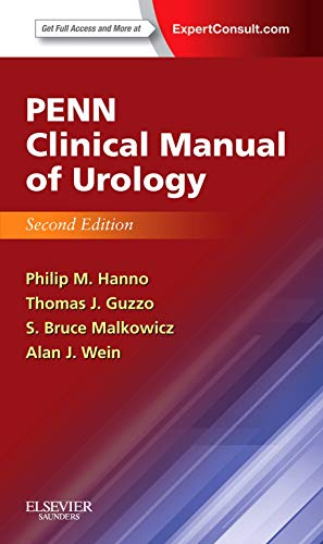 Compare Textbook Prices for Penn Clinical Manual of Urology: Expert Consult - Online and Print, 2e 2 Edition ISBN 9781455753598 by Hanno MD  MPH, Philip M,Guzzo MD  MPH, Thomas J.,Malkowicz MD, S. Bruce,Wein MD  PhD (Hon)  FACS, Alan J.