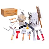 POLLIBEE Beekeeping Supplies 22 Pcs Beekeeping Tools Kit - Deluxe...