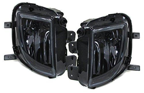 Carparts-Online 29838 Klarglas Nebelscheinwerfer H8 schwarz smoke