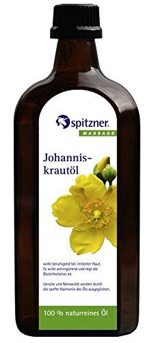 Spitzner Pflege- und Basisöl 'Johanniskrautöl' - 500 ml