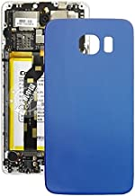 WandaElite Compatible With Samsung Galaxy S6 Replacement parts Battery Back Cover Match original Replacement parts (Color : Blue)