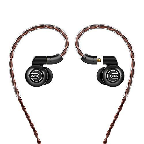 DUNU DK-3001 Pro - Auriculares in-Ear con 5 Controladores 4BA 1Dynamic Hybrid Hi-Res Beryllium MMCX