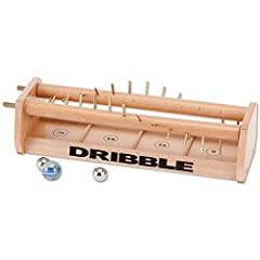 Can You Master The Dribble? Patience and dexterity are needed to conquer this unique challenge. The further you get the ball from one end of the twisting pegs to the other without the ball falling through, the higher your score. Use the larger glass ...