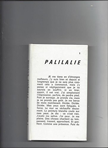 Palilalie
