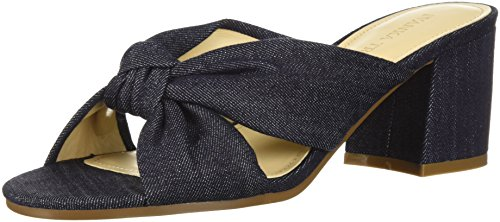 Ivanka Trump Women's EARIN Slide Sandal, Blue/Multi, 9.5 M US
