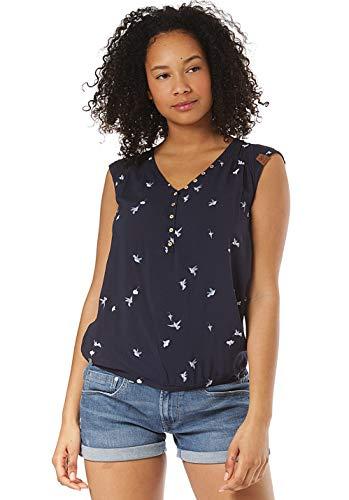 Ragwear T-Shirt Damen T-Shirt Salty A 1911-10010 Dunkelblau Navy 2028, Größe:M