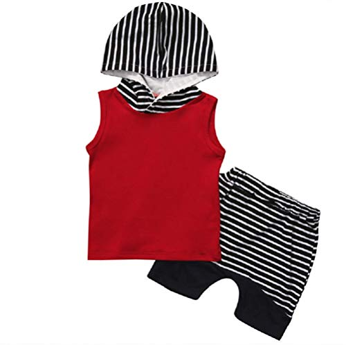4th of July Clothes Toddler Kids Baby Boys Girl Vest Hoodie T-Shirt+Shorts Pants Independence Day...