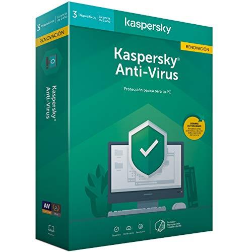 Antivirus 2020 3 Dispositivos Marca Kaspersky