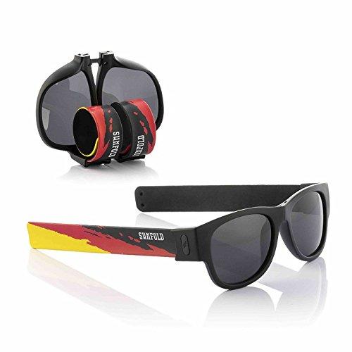 Sunfold Germany Gafas de Sol Enrollables, Unisex Adulto, Multicolor, Talla Única
