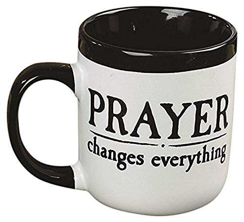 Abbey Gift Prayer Changes Everything Contemporary Mug, 16 ounce