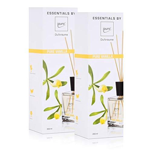 Essentials by Ipuro pure vanilla 200ml Raumduft Dufträume (2er Pack)
