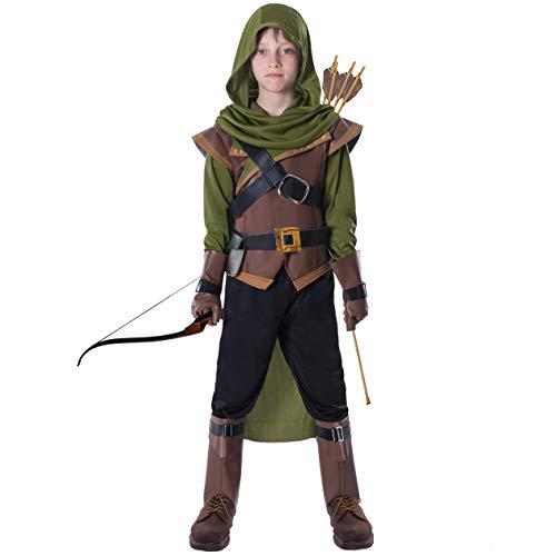 Spooktacular Creations Robin Hood Child Costume (X-Large (12-14yr)) Green