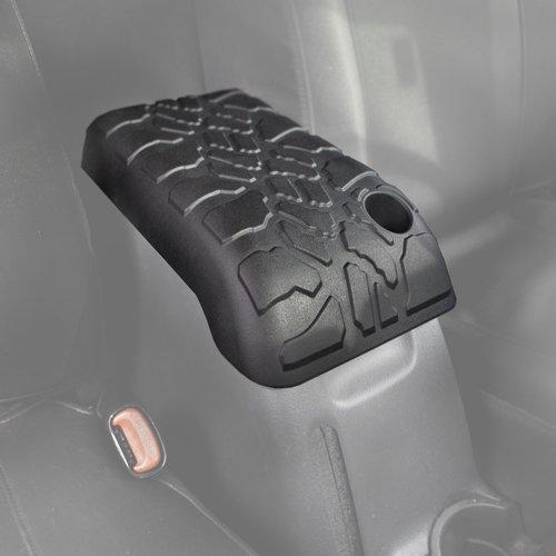 Boomerang Tire Tread Armpad for Jeep Wrangler TJ (2001-2006) - Center Console Armrest Cover