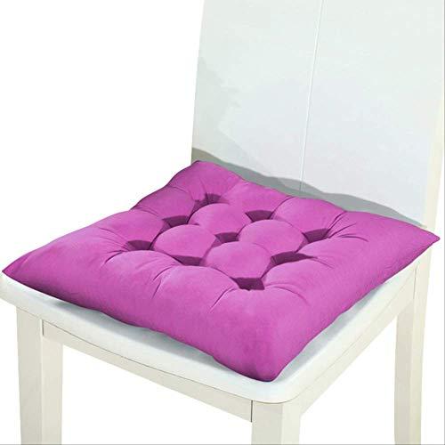 No Winter Office Bar stoelkussen voor achterbank, kussen voor banken en zitkussens voor stoelen 40x40cm Paars