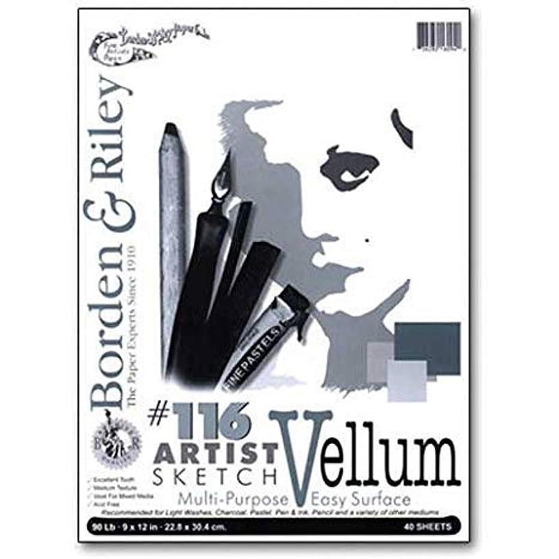 Borden & Riley - #116 Artist Sketch Vellum Pad - 18