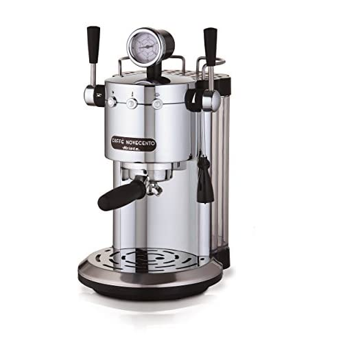Ariete 1387 Coffee Machine Novecento-1387, Silver-Chrome
