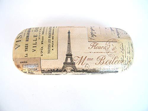 Paris Estuche De Gafas, Funda Dura Para Gafas 16 cm, Vision Accesorios