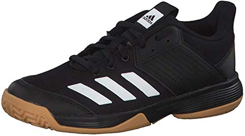 adidas Unisex-Child D97704_36 Volleyball Shoes, Black, 35 EU