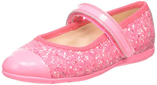 Clarks Dance Tap T, Ballerine Bambina, Rosa (Pink Synthetic Pink Synthetic), 25 EU