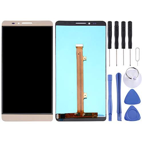 Accesorios para Celular ZY 2 en 1 para el ensamblaje del digitalizador Huawei Ascend Mate 7 (LCD + Touch Pad) (Oro)