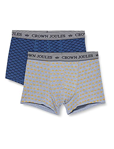 Joules Herren Crown Boxershorts, Show Me The Honey, XXL