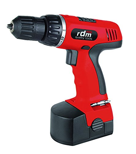RDM Quality Tools 70007 Taladro Atornillador, 863 W, 240 V, Rojo y Negro