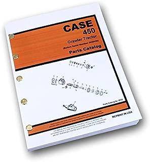 J I Case 450 Crawler Tractor Loader Dozer Parts Catalog Manual S/N 3038436-Down