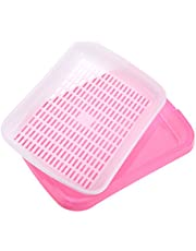 Seed Sprouter Tray, Seed Germination Tray, Seedling Trays voor Garden Home Office(Roze)