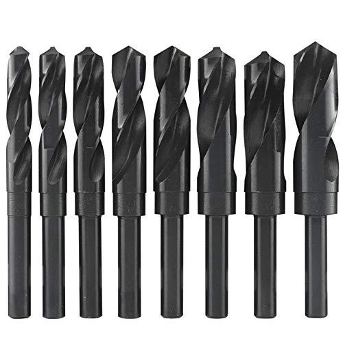 Newest 1PC 12mm-40mm 1/2' inch Dia Reduced Shank HSS Twist Drill Bit (12/13/14/15/16/17/18/19/20/21/22/23/24/25/26/28/30/32/35/38/40mm) Twist Drill (Hole Diameter : 19.0)