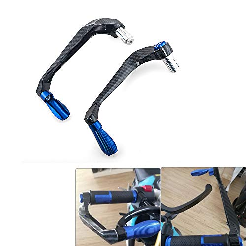 """Paramano moto universale 22mm 7/8""""protezione leva frizione freno moto paramano nero"""