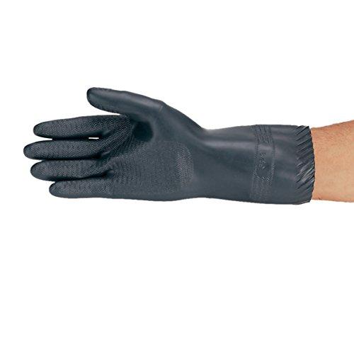 neoLab 2-4304 Säureschutz-Handschuhe schwarz, Größe 10 1/2-11, Paar