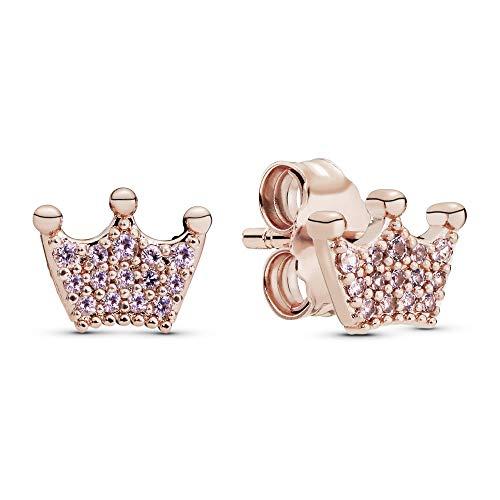 Pandora Orecchini a perno Da donna oro rosa Argento sterling 925 non specificato - 287127NPO