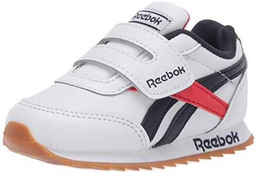 Reebok baby boys Classic Leather Shoes - Toddler Sneaker, White/Gum/Int, 4 US