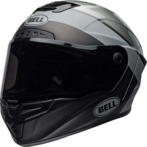 BELL Race Star Flex DLX Helmet (Surge Matte/Gloss Brushed Metal/Gray - Large)