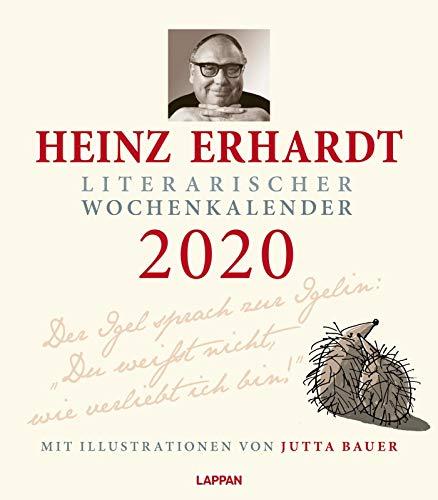 Heinz Erhardt – Literarischer Wochenkalender 2020: Der Igel sprach zur Igelin ...
