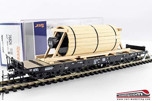 Roco 76826 H0 Schwerlastwag. Stahlwalze DB IV