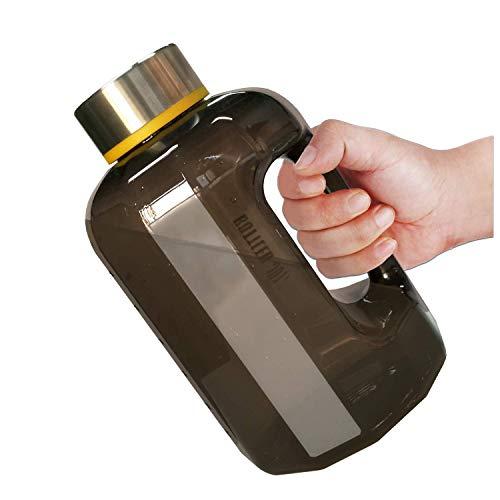 BOTTLED JOY Trinkflasche Sport BPA Frei - 2.2L Sportflasche Water Jug - Fitness Trinkflasche Auslaufsicher mit Tragegriff - Ideal für Gym Diät Bodybuilding Outdoor