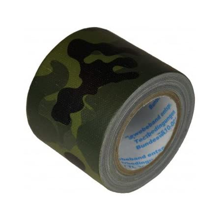 Draussen Klebeband Gewebeband Camo Blätter Camouflage Army Tape Isolierband 10M