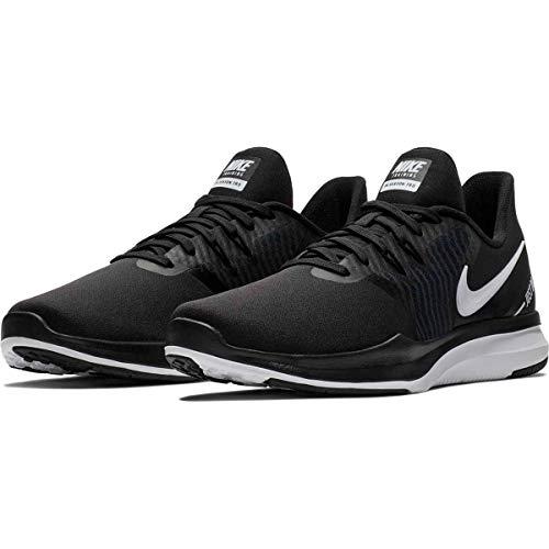 Nike Women's in-Season TR 8 Cross Training Shoes (9, Black White Anthracite)