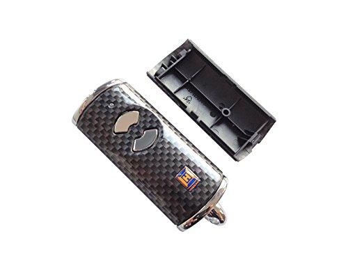 Hörmann Handsender Cover HSE2BS Carbon Optik Leer Gehäuse ohne Batterie ohne Platine Ersatzteil Ober- und Unterschale