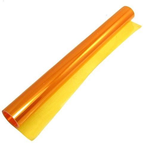 THG Tönungsfolie 30x120cm Sonnenschutzfolie Scheibenfolie Autofolie Fensterfolie orange Folie