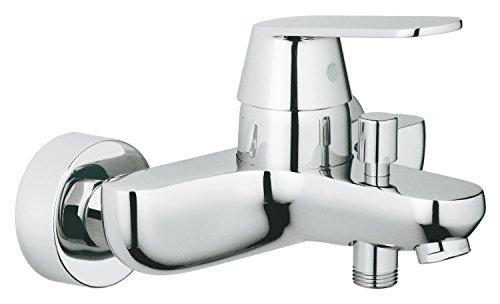 Grohe Eurosmart Cosmopolitan - Grifo para baño y ducha, cromado, montaje en pared, diseño alemán, fácil de limpiar. (Ref. 32831000)