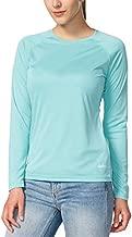 BALEAF Women's Long Sleeve Shirts UPF 50+ Sun Protection SPF Quick Dry Lightweight T-Shirt Outdoor Hiking Runing Fishing Light Green Size M