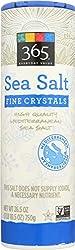 365 Everyday Value, Sea Salt, Fine Crystals, 26.5 oz