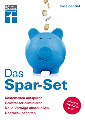 Das Spar-Set für persönliche Sparziele – Finanzielle Unabhängigkeit – Spartipps - Mit Haushaltsbuch von Stiftung Warentest