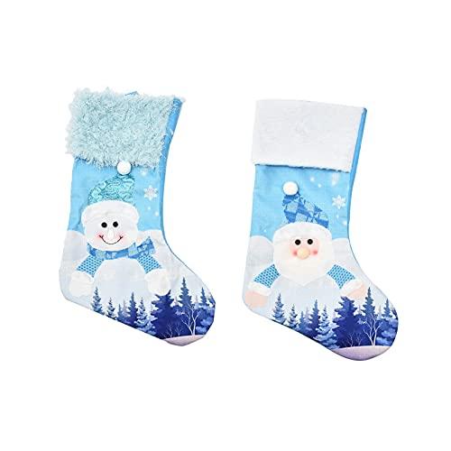 ACAREY Calcetines y calcetines de Navidad.